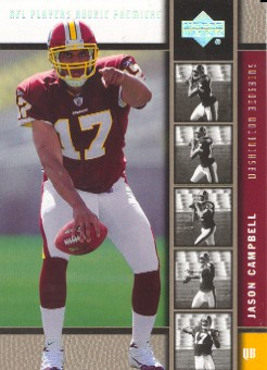 2005 Upper Deck Rookie Debut Gold Spectrum #187 Jason Campbell