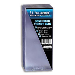 Ultra Pro Semi-Rigid Card Sleeves (3-1/4