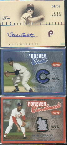 2004 Greats of the Game Forever Game Jersey Logo #BG Bob Gibson