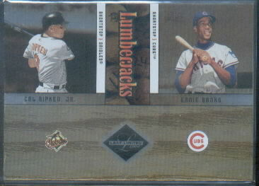 2004 Leaf Limited Lumberjacks #42 C.Ripken/E.Banks