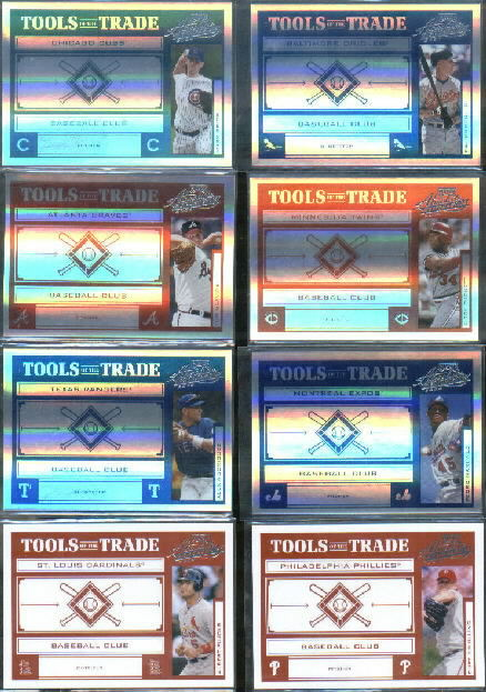 2004 Absolute Memorabilia Tools of the Trade Blue Spectrum #25 Cal Ripken Alt