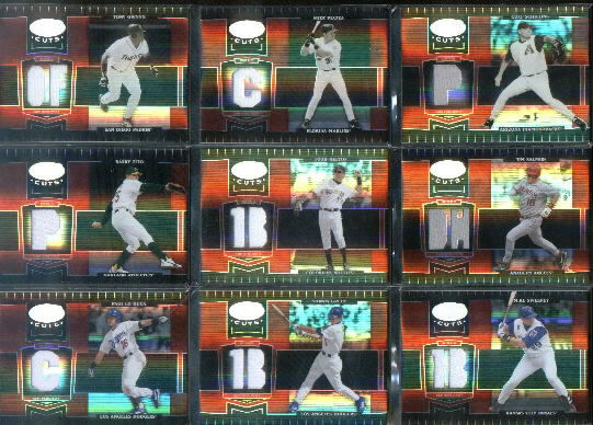 2004 Leaf Certified Cuts Marble Material Red Position #244 Tony Gwynn LGD Jsy/100