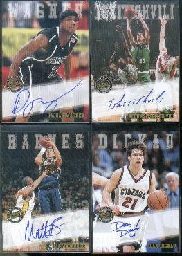 2002 Press Pass Autographs #1 Matt Barnes