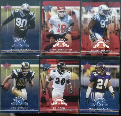 2002 Leaf Rookies and Stars #107 Ed Reed RC