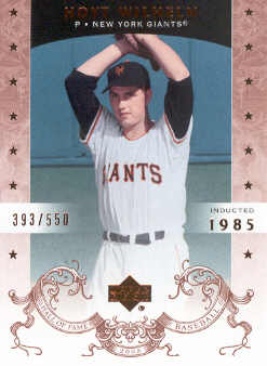 2005 Upper Deck Hall of Fame #35 Hoyt Wilhelm