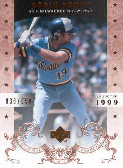 2005 Upper Deck Hall of Fame #65 Robin Yount