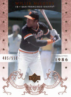 2005 Upper Deck Hall of Fame #74 Willie McCovey