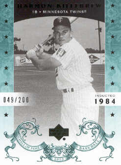 2005 Upper Deck Hall of Fame Green #34 Harmon Killebrew