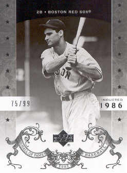 2005 Upper Deck Hall of Fame Silver #8 Bobby Doerr