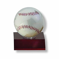 Ultra Pro Dark Wood Baseball Holder