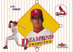 2001 Fleer Tradition Diamond Tributes #DT13 J.D. Drew