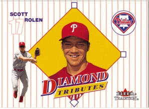 2001 Fleer Tradition Diamond Tributes #DT17 Scott Rolen