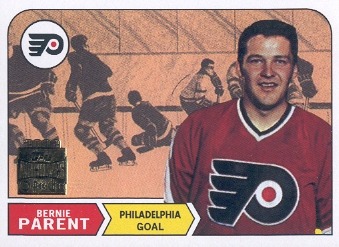 2001-02 Topps Archives #16 Bernie Parent