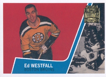 2001-02 Topps Archives #51 Ed Westfall
