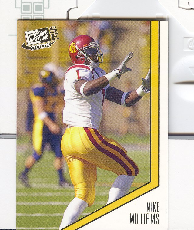 2004 Press Pass SE #34 Mike Williams