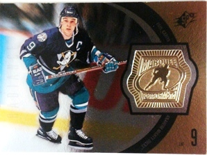 1998-99 SPx Finite Radiance #153 Paul Kariya MP
