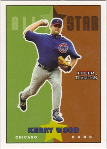 2003 Fleer Tradition Update Glossy #242 Kerry Wood AS