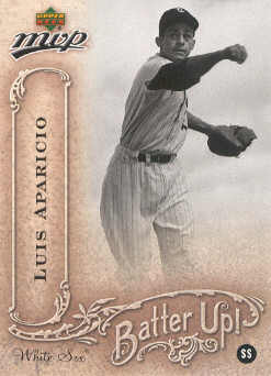 2005 Upper Deck MVP Batter Up! #23 Luis Aparicio