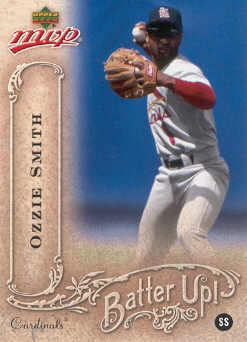 2005 Upper Deck MVP Batter Up! #28 Ozzie Smith