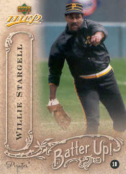 2005 Upper Deck MVP Batter Up! #41 Willie Stargell