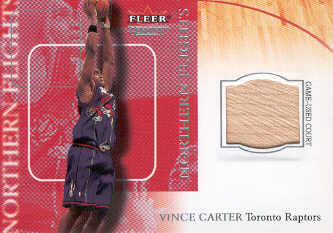 2000-01 Fleer Genuine Northern Flights #NF4 Vince Carter