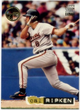 1994 Stadium Club Members Only Parallel #DD4 Cal Ripken