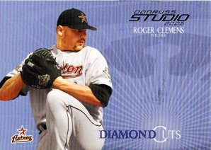 2005 Studio Diamond Cuts #1 Roger Clemens