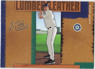 2005 Leather and Lumber Lumber/Leather #24 Richie Sexson