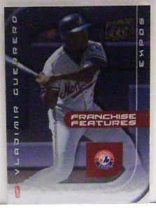 2002 Donruss Fan Club Franchise Features #FF7 Vladimir Guerrero