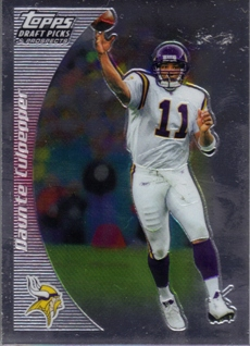 2005 Topps Draft Picks and Prospects Chrome #30 Daunte Culpepper