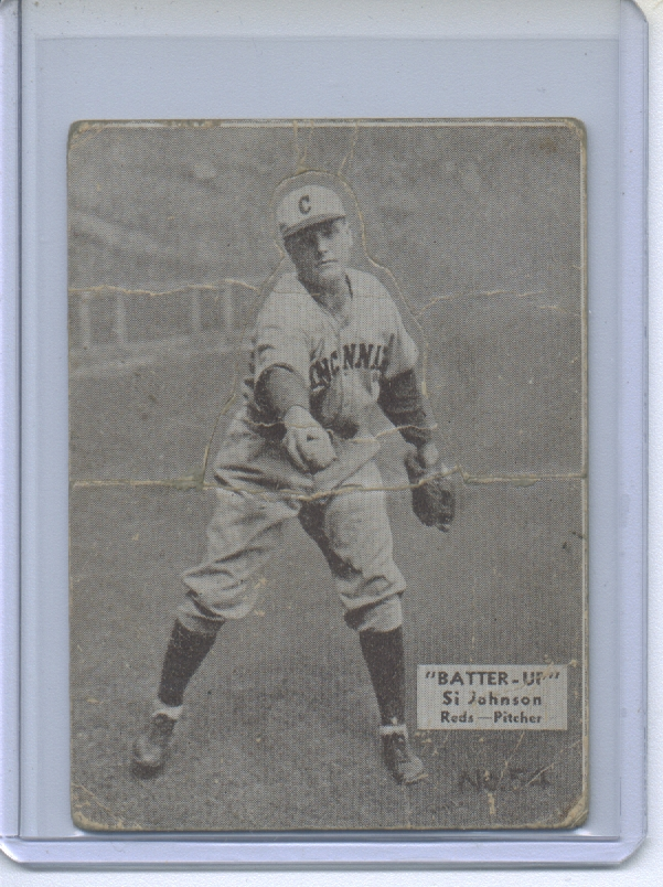 1934-36 Batter-Up #54 Sylvester Johnson XRC front image