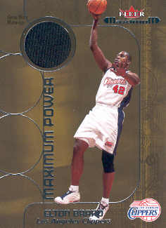 2001-02 Fleer Maximum Power Warm-Ups Gold #6 Elton Brand