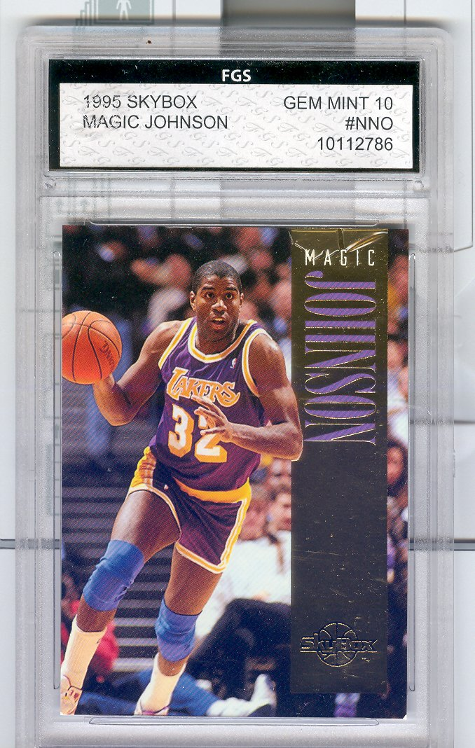 1995 SkyBox Magic Johnson  #NNO  FGS Graded GEM MINT 10   $30.00