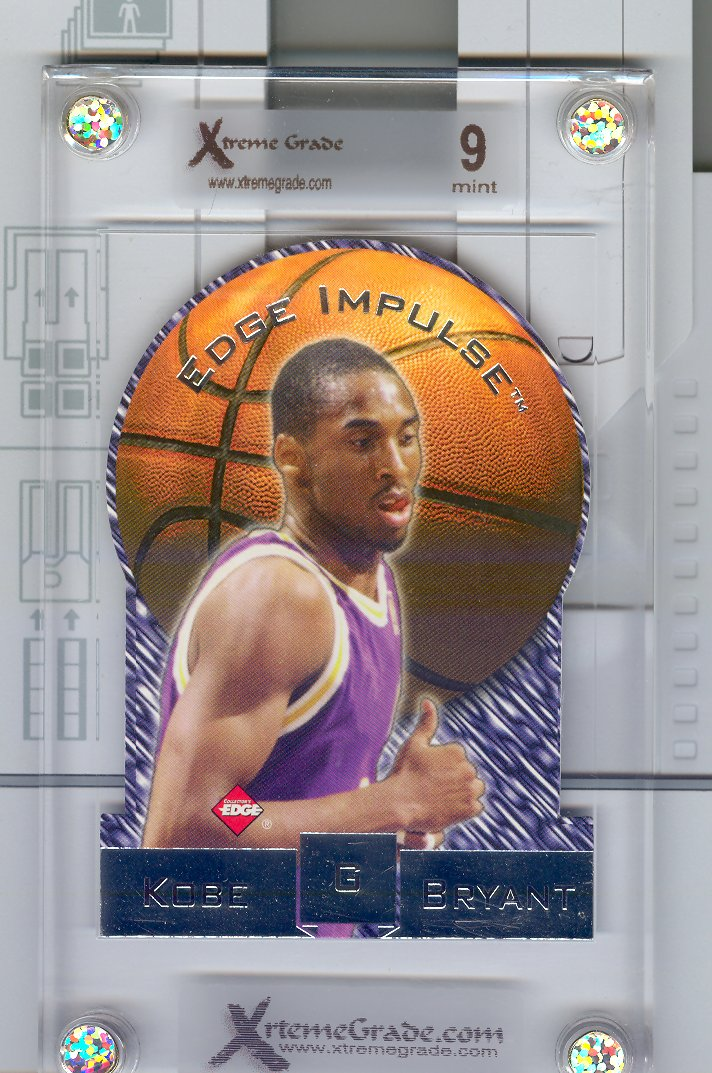 1997-98 Collector's Edge Edge Impulse #39  Kobe Bryant   Graded  Xtreme Grade  9   $25.00