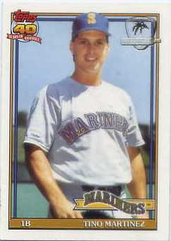 1991 Topps Desert Shield #482 Tino Martinez