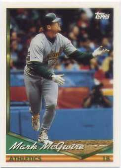 1994 Topps Spanish #340 Mark McGwire