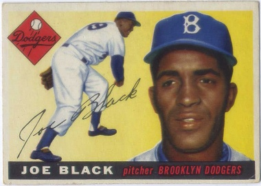 1955 Topps #156 Joe Black