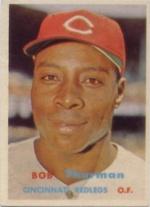 1957 Topps #279 Bob Thurman RC