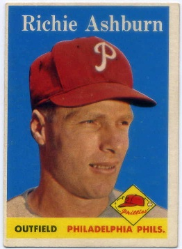 1958 Topps #230 Richie Ashburn