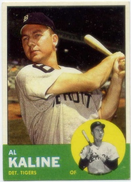 1963 Topps #25 Al Kaline