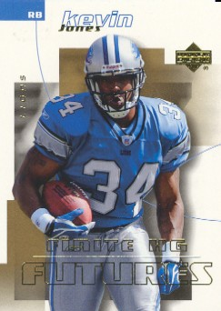 2004 Upper Deck Finite HG #270 Kevin Jones RC
