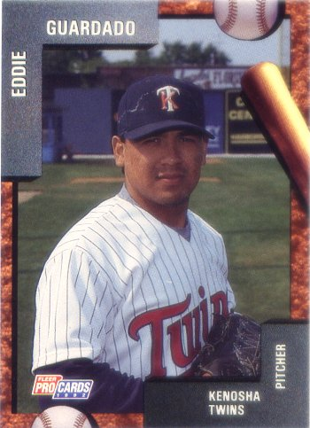 1992 Kenosha Twins Fleer/ProCards #598 Eddie Guardado