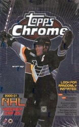 2000-01 (2001) Topps Chrome NHL Hockey Sports Trading Cards Hobby Box
