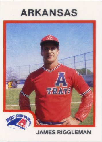 1987 Arkansas Travelers ProCards #7 James Riggleman
