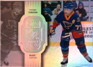 1998-99 SPx Finite Spectrum #74 Pierre Turgeon