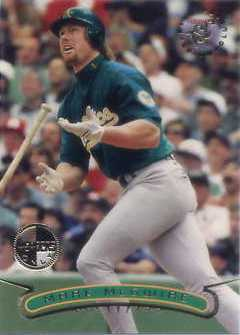 1996 Stadium Club Members Only Parallel #104 Mark McGwire