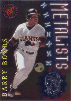 1996 Stadium Club Members Only Parallel #M2 Barry Bonds