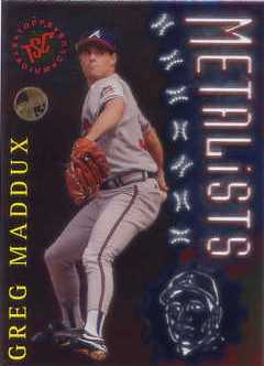 1996 Stadium Club Members Only Parallel #M6 Greg Maddux