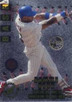 1996 Stadium Club Members Only Parallel #BB1 Sammy Sosa