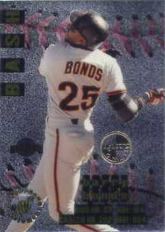 1996 Stadium Club Members Only Parallel #BB2 Barry Bonds
